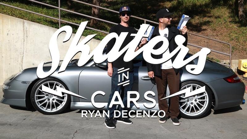 Skaters In Cars: Ryan DeCenzo | X Games