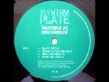 Rhythm Plate - Black Rocks