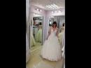 Фатиновое платье с каскадной юбкой