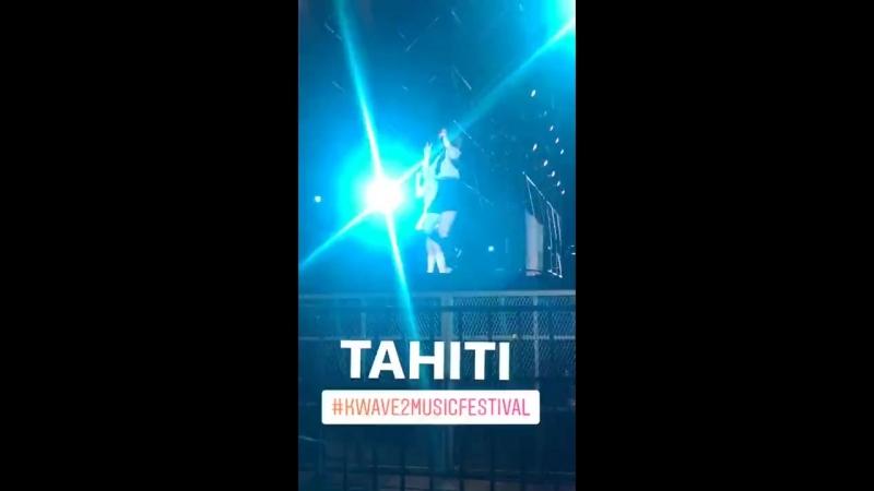 [PERF] 180113 TAHITI - Skip @ K-Wave 2 Music Festival KWAVE2MusicFestival