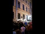 Концерт группы ,, Добраночь,, в Аллее парящих зонтиков.