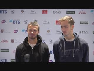 Евгений Карловский / Даниил Медведев: «Играть в родных стенах — это, с одной стороны, замечательно... С другой — нервозно»