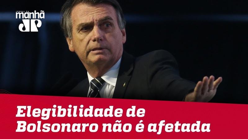 STF tornar Bolsonaro réu não afeta sua elegibilidade, explica especialista