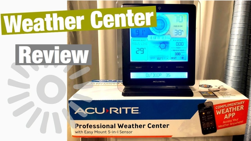 Watch Before You Buy | Acu-Rite 5 in 1 Weather Center Review