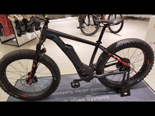 Cube NUTRAIL HYBRID Bosch E Fat Bike iridium´n´red Modell 2019