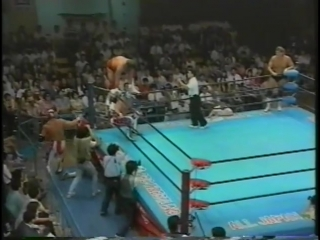 1993.08.20 - The Eagle/The Patriot vs. Steve Williams/Tracy Smothers [JIP]