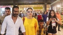 AJAY DEVGN Spotted With His Wife KAJOL KIDS At Airport