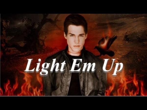 Kai Parker Psycho Siphon -Light Em Up -The Vampire Diaries edit