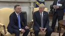 President Trump and the First Lady Meet with the President of the Republic of Poland