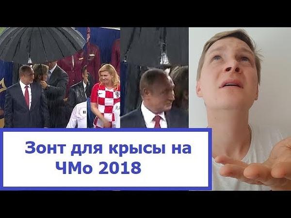 Зонт для крысы или Финал ЧМо 2018