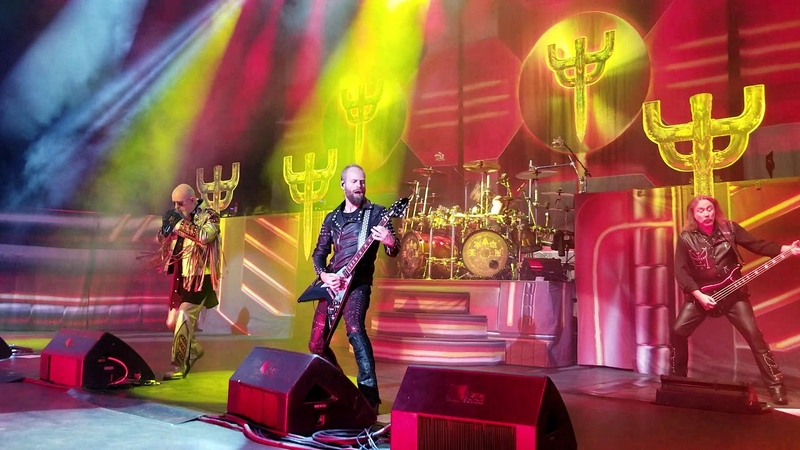 Judas Priest - Firepower Michigan Lottery Amphitheatre at Freedom Hill Sterling Hts, MI 8-24-18