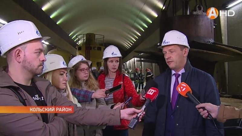 Репортаж Арктик-ТВ: Рабочее колесо Верхне-Туломской ГЭС с полувековой историей станет памятником