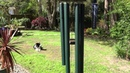 Nature's Melody 42 inch forest green wind chime
