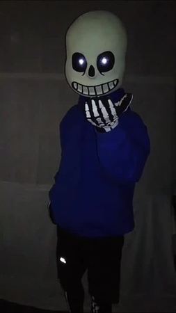 Sans is sparing you. Will you spare Sans?