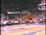 Michael Jordan Iconic Free Throw Line Dunk