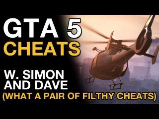GTA 5 Cheats with Simon and Dave (VideoGamer.com)