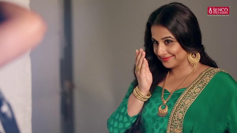 Vidya Balan During The Photo Shoot Of Senco Gold Diamonds