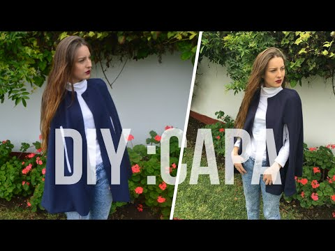 DIY : Como hacer una capa !!