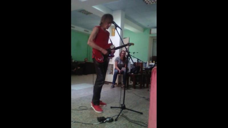 Alex Carlin rehersal in Astrakhan 07092018