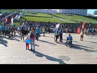 Стрим 63.ru: массовый забег в Самаре