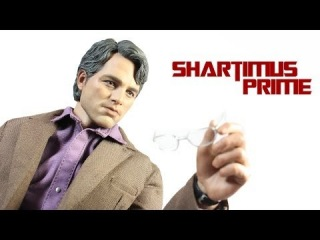Hot Toys Bruce Banner 1/6 Scale The Avengers Movie Masterpiece MMS229 Action Figure Review
