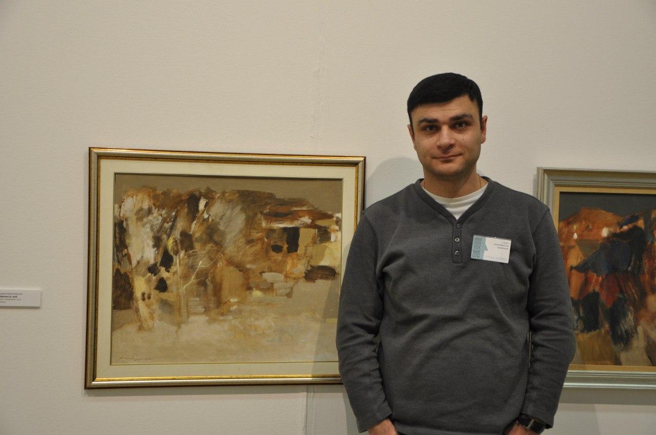 Армянский художник Левон Абраамян.