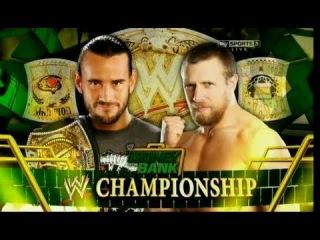 WWE Money In The Bank 2012 - CM Punk Vs Daniel Bryan (WWE Championship) Full Match HD