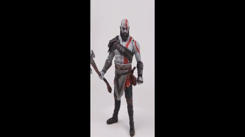 Фигурка Кратоса из игры God of War (PS4)