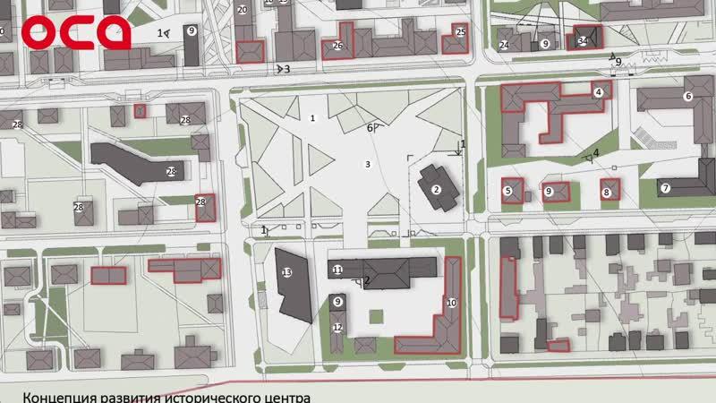 Студенты СФУ придумали проект благоустройства старого центра