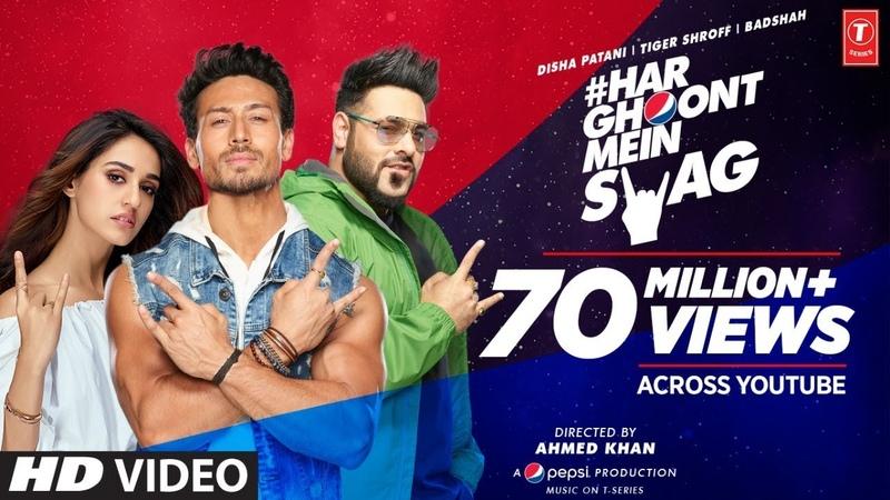 Har Ghoont Mein Swag | Tiger Shroff | Disha Patani | Badshah | Ahmed Khan | Bhushan Kumar