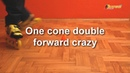 One Cone Crazy and Friends freestyle slalom tricks for one cone