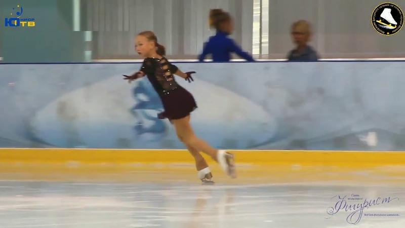 Анна СМИРНОВА - Anna SMIRNOVA SP (2009) - На призы сети магазинов «Фигурист» 2018