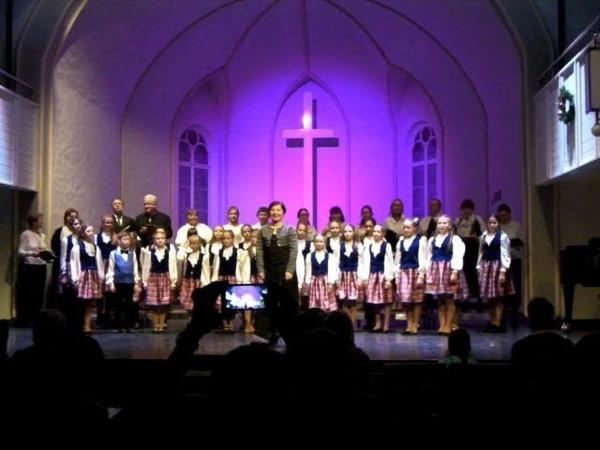 Хор Каjа Церковь Св. Апостола Иоанна 13.01.19
