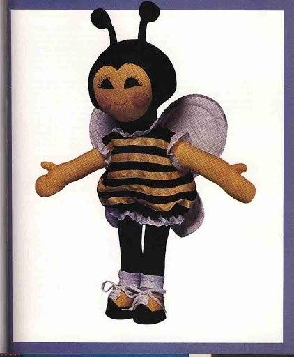 Пчелка. Выкройка