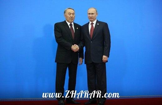 Назарбаев пен Путин Украинадағы дағдарыс жағдайын талқылады