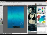 Bikini Babe Painter X painting tutorial with audio instructions Part 2/15