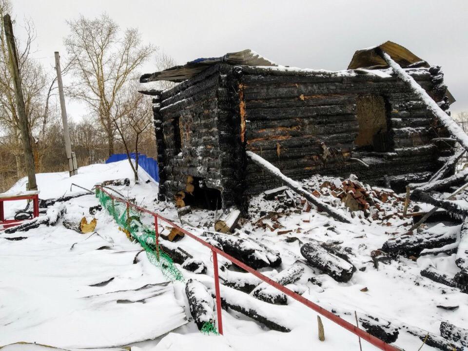 пожар, чайковский район, 2019 год