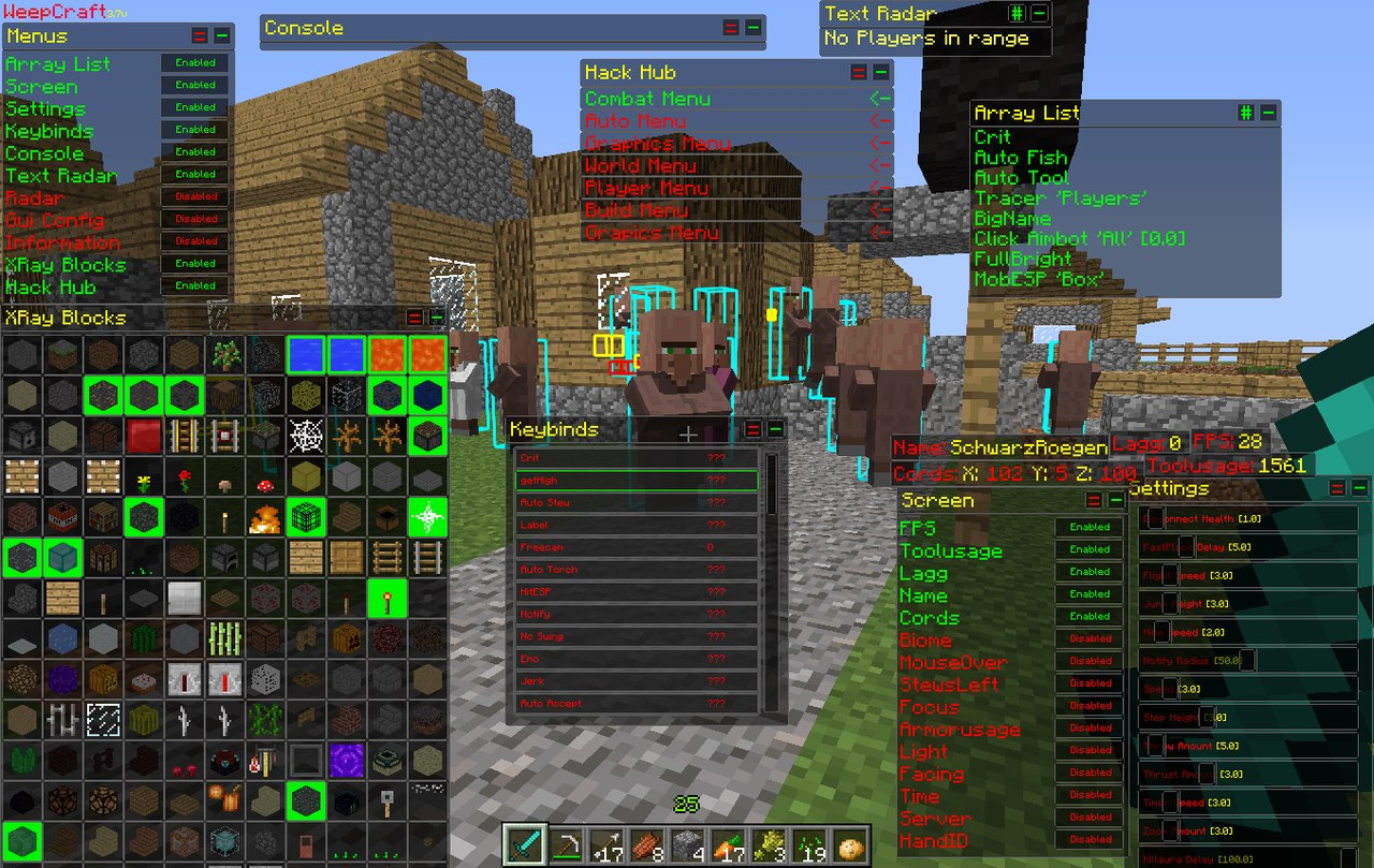 Minecraft Hacked Client 1.8.8 | Minecraft Hacked Client