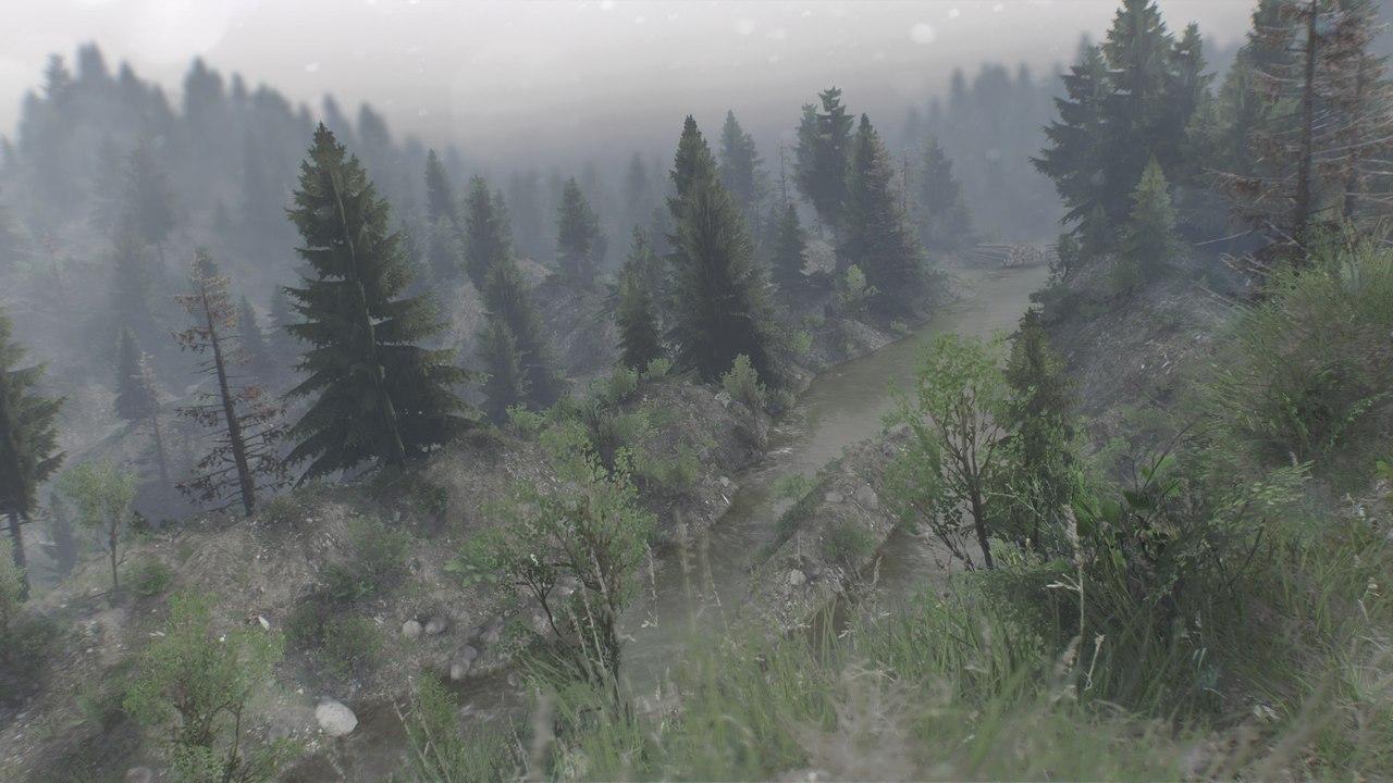 "Карта ""Evans Creek"" для 25.12.15 для Spintires - Скриншот 1"