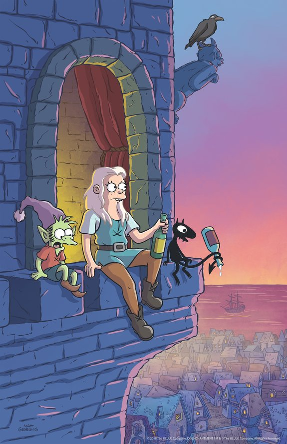 Создатель «Симпсонов» разработал для Netflix новый анимацион