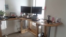 Amazon Echo Controlled Standing Desk