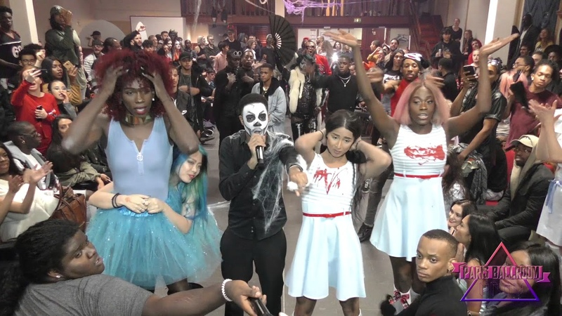 FEMALE FIGURE PERFORMANCE at the Halloween Party