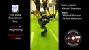 Робот тяжелоатлет на FIRA RoboWorld Cup 2018 Team Killer 1 place World record in weightlifting