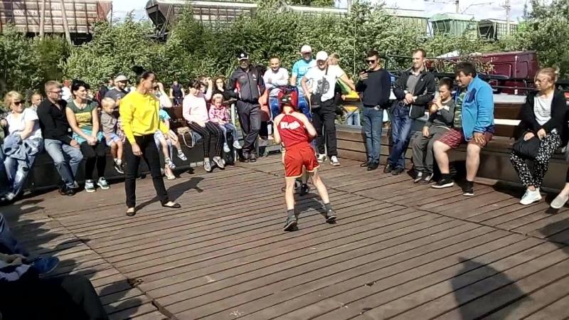 Бой на Выге Макс Зубов и Саакян Тарон