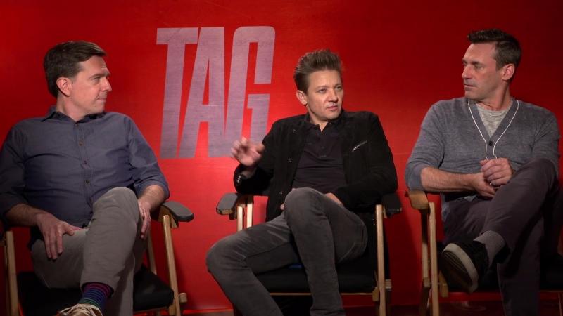 Jon Hamm Hates Instagram Jeremy Renners Nerves On Red Carpets... (TAG)