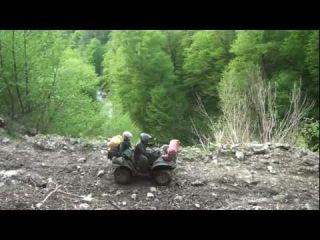 Путешествие по Кавказу на квадроциклах