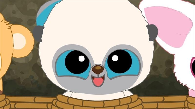 Мультики - Юху и его друзья - Куки - пингвин Антарктиды Уловка сурикатов