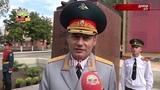 В военном училище появился памятник Александру Невскому