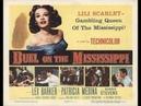 Película de AVENTURAS: Duelo En El Mississippi 1955. Castellano.
