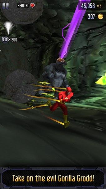 Скачать Batman & The Flash: Hero Run для android